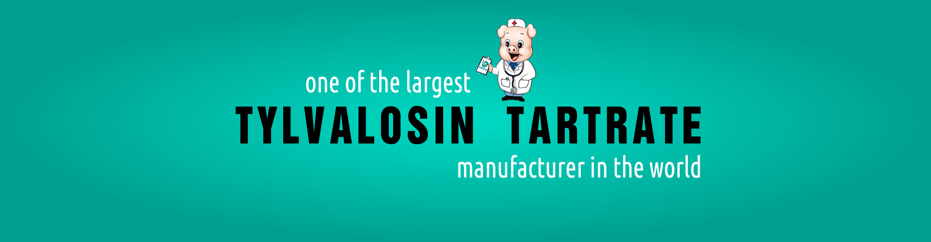 One of the largest tylvalosin tartrate manufacturer in the world